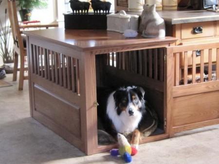Custom Wooden Dog Crates