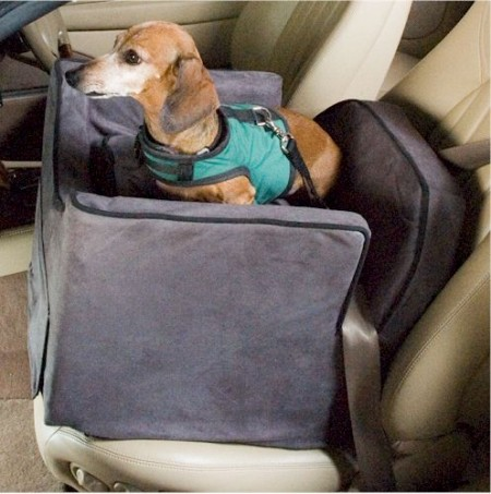 Dog Car Seat For Two Small Dogs