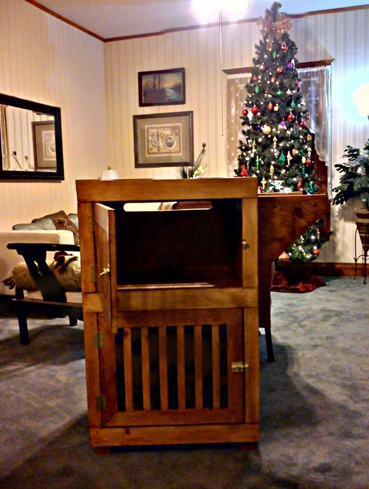 Double Dog Crate Furniture