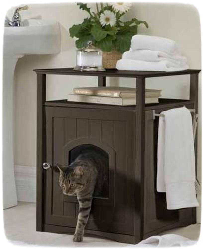 Large Cat Litter Box Furniture