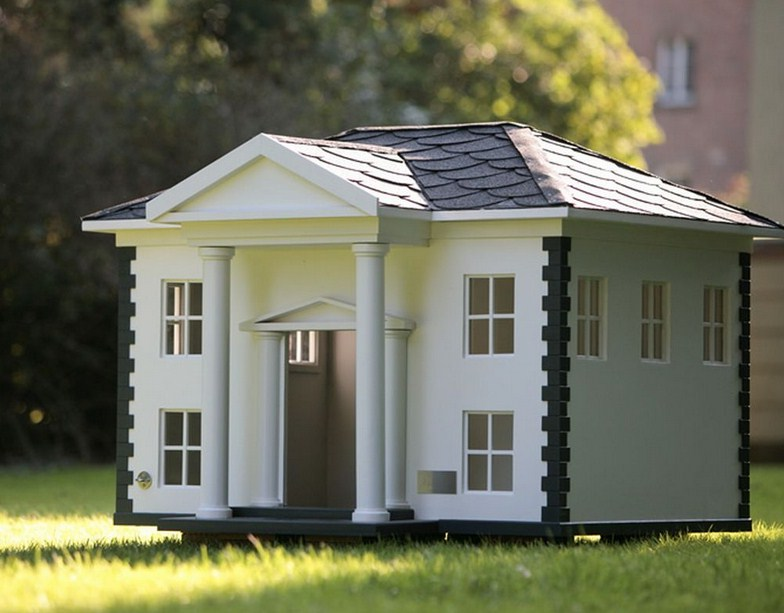 Large Dog House Designs