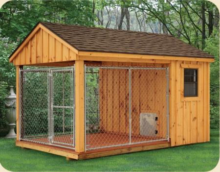 Large Dog Kennel Designs