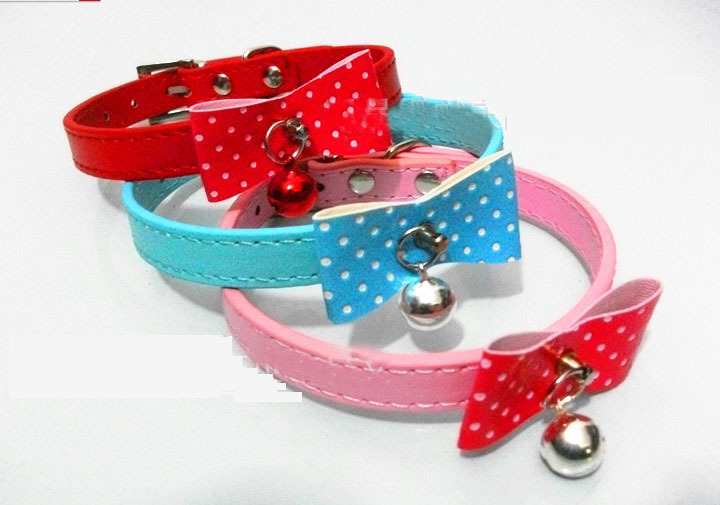 Leather Bling Dog Collars