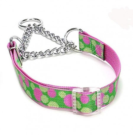 Martingale Dog Collars With Chain