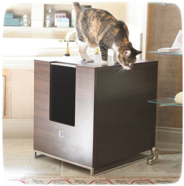 Modern Cat Litter Box Furniture