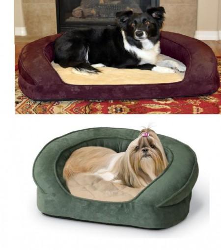 Orthopedic Dog Bed Bolster