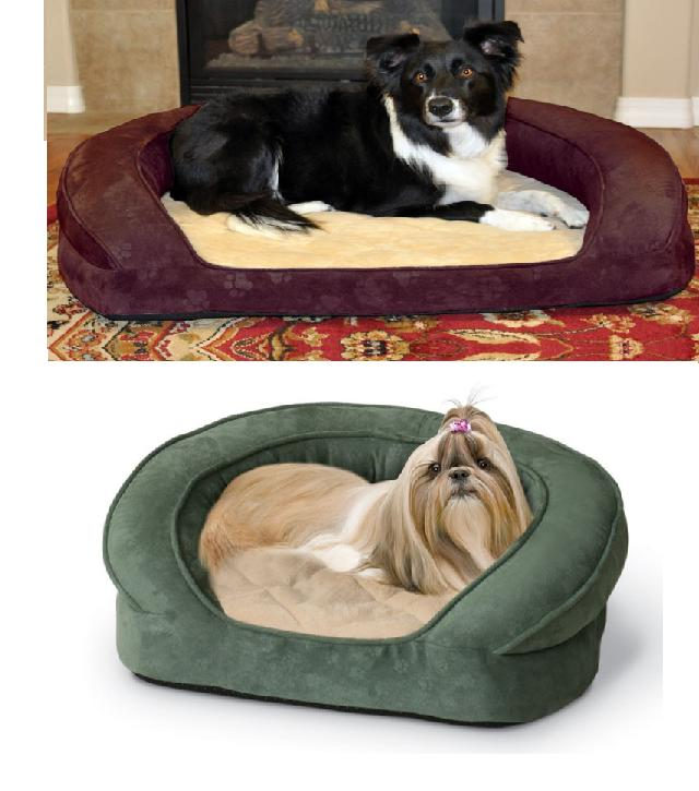 Orthopedic Dog Bed Bolster