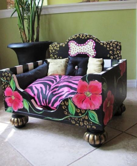 Pink Luxury Dog Beds