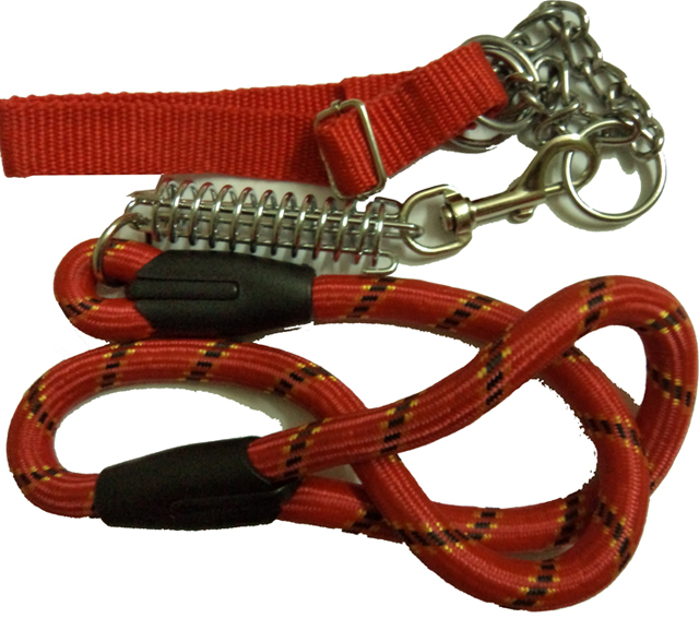 Rope Dog Collars And Leashes