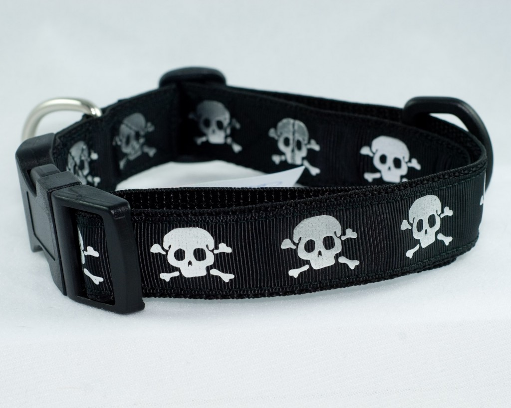 Skull Dog Collars And Leashes