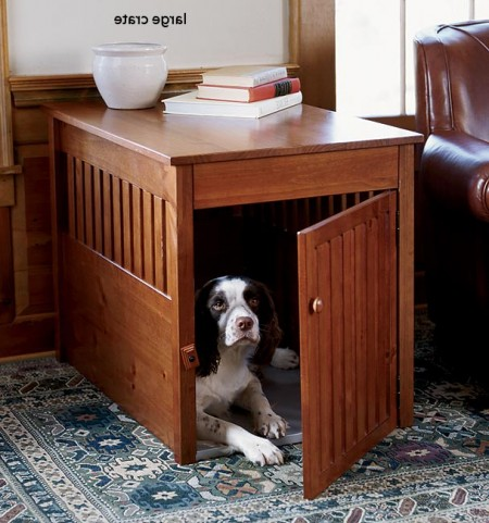 Wooden Dog Crates Furniture