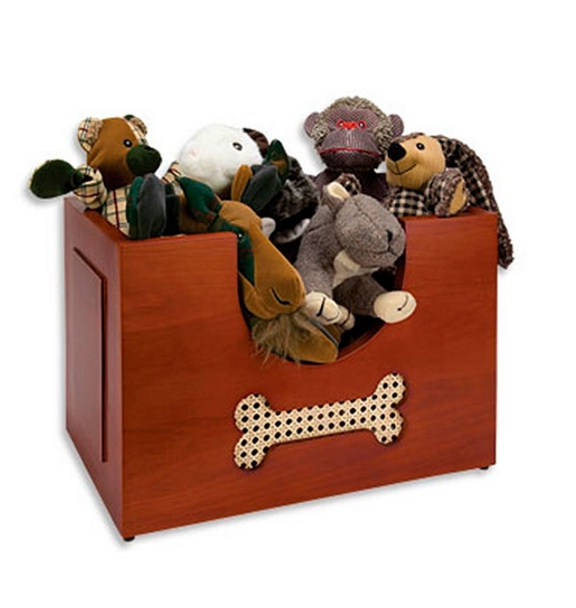 Dog Toy Box Etsy