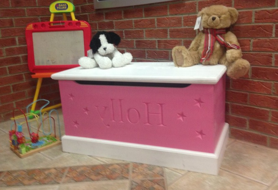 Dog Toy Box With Lid