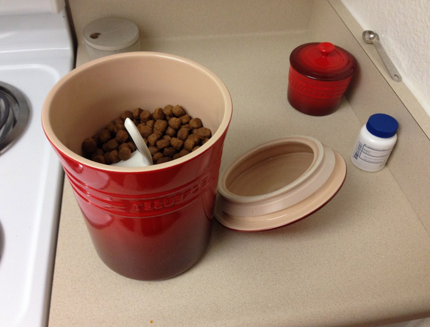 Dry Dog Food Storage