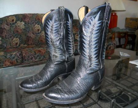 Elephant Skin Boots Tony Lama