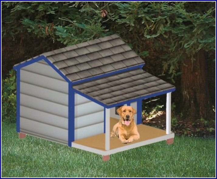 Extra Large Dog House With Porch