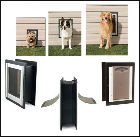 Large Dog Door Electronic