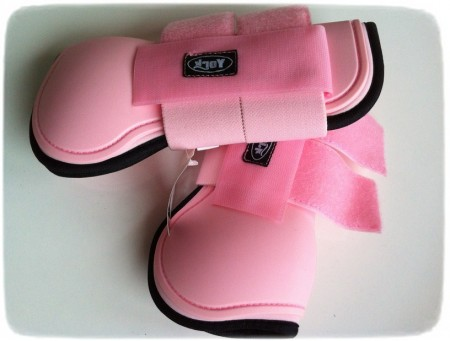Pink Horse Riding Boots