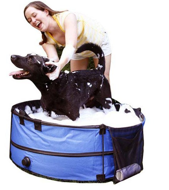 Portable Dog Bath Tubs