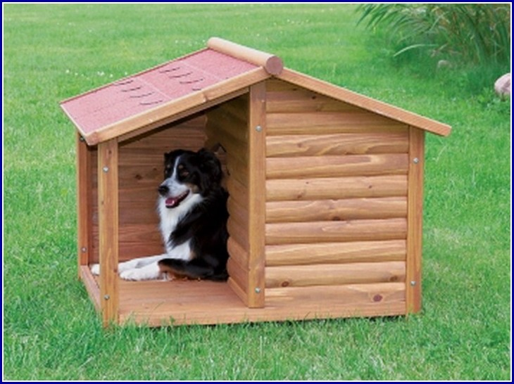 Simple Wooden Dog House