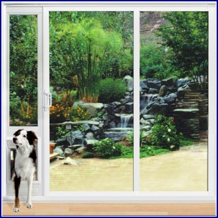 Sliding Glass Door Dog Door Extra Large