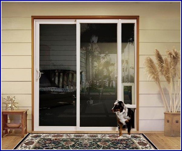 Sliding Glass Door Dog Door Insert