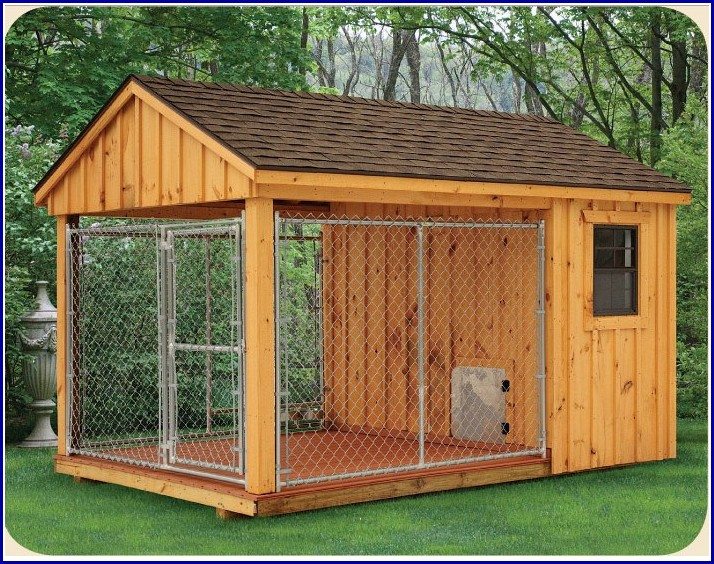 Small Dog Kennel With Run