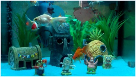 Spongebob Squarepants Fish Tank Accessories
