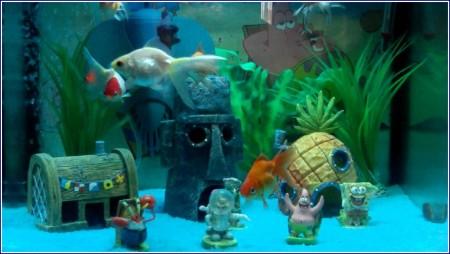 Spongebob Squarepants Fish Tank Accessories