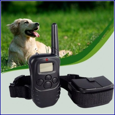 Vibrating Dog Collar With Remote