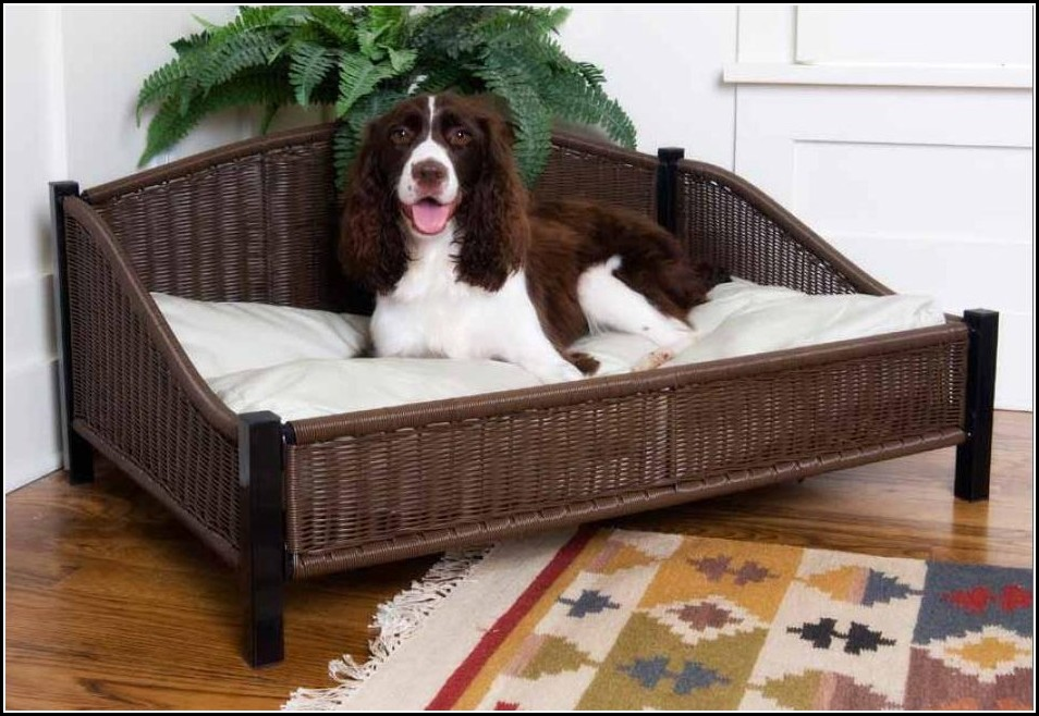 Wicker Dog Beds Uk