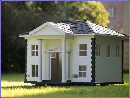 Wooden Dog House Designs