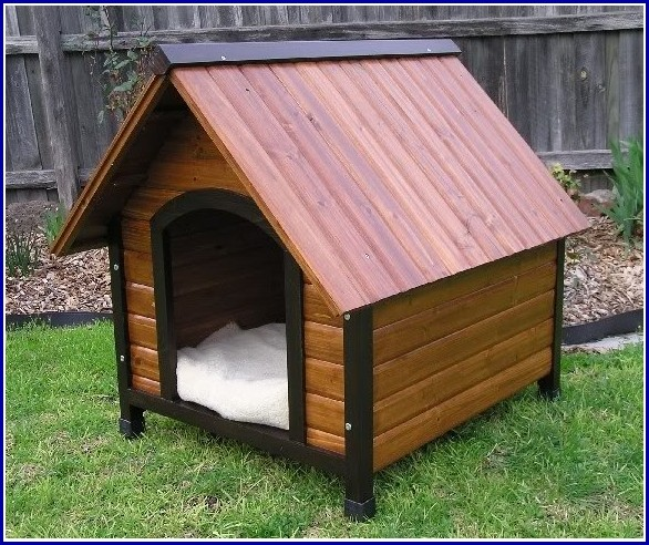 Wooden Dog Houses For Large Dogs