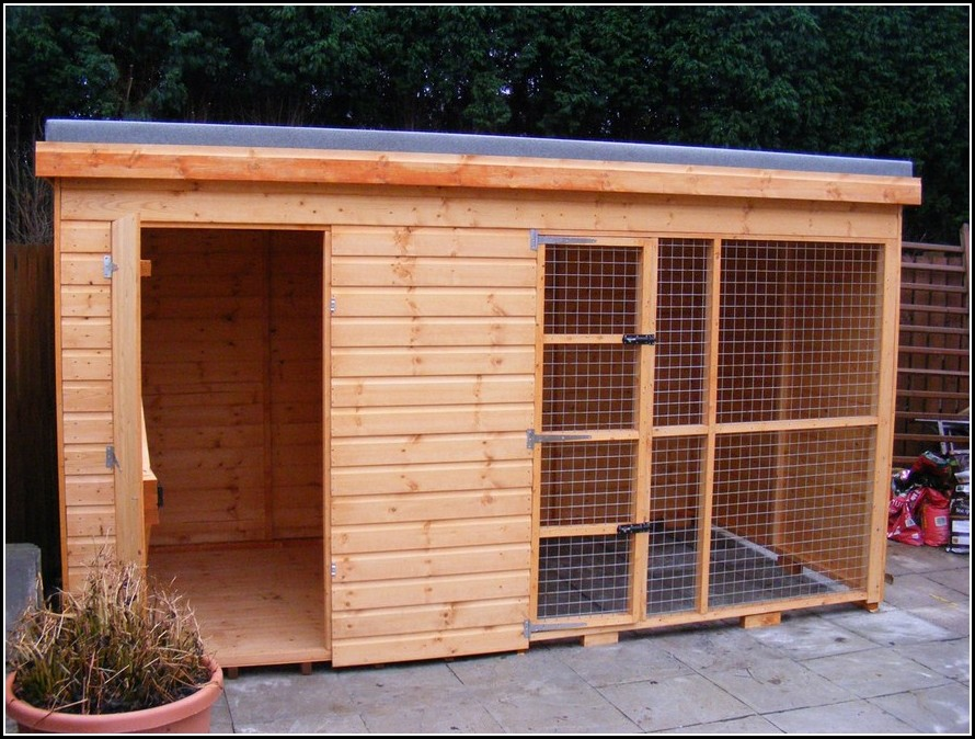 Big Dog Houses For 2 Dogs