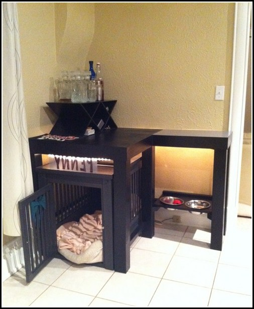Homemade Indoor Dog Kennel
