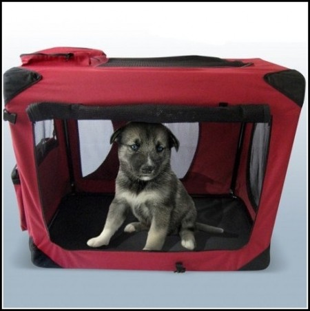 Soft Dog Crate For Car