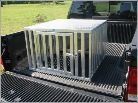 Pickup Truck Dog Boxes