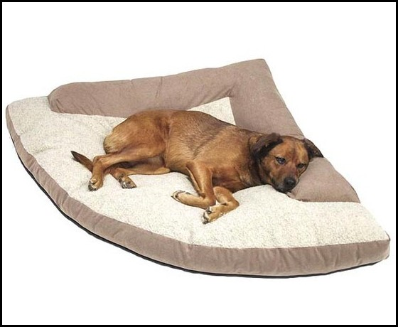 Bolster Dog Bed Large
