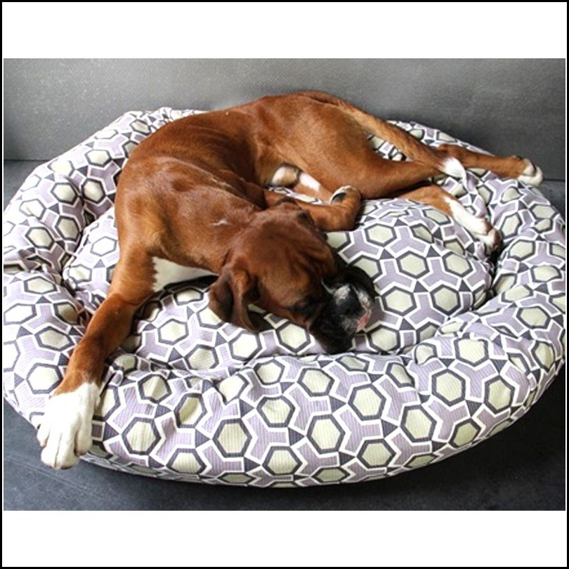 Bolster Dog Bed Pattern