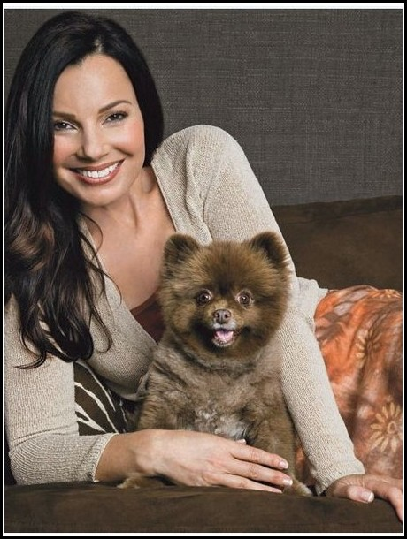 Fran Drescher Dog Chester