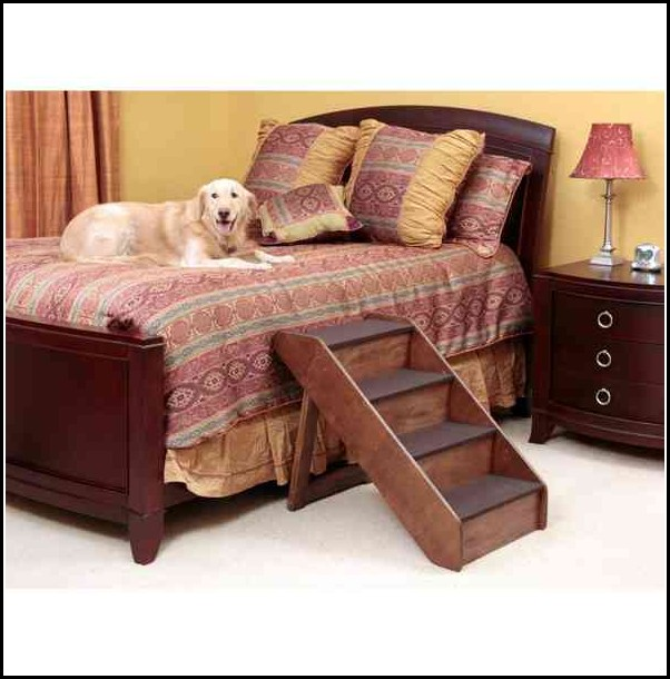 Dog Bed With Stairs