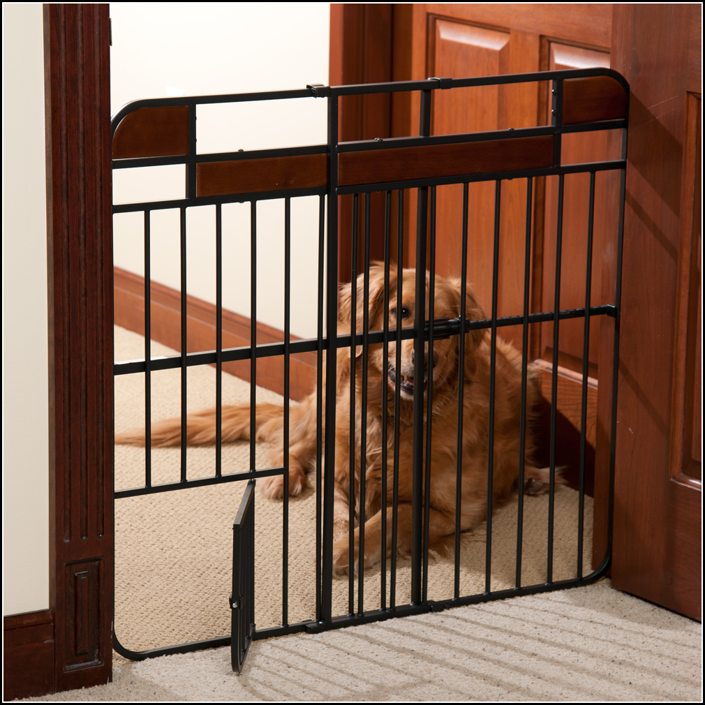 Dog Gate For Garage Door